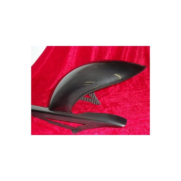 carbon rear mudguard